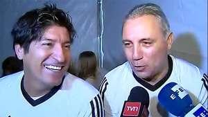 Stoichkov y Zamorano apuestan por título de Argentina Video: