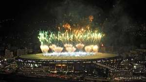Fuegos artificiales para despedir el Mundial Video:
