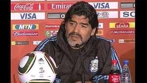 Maradona critica Balón de Oro a Messi Video: