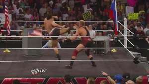 RAW: Rusev y Swagger acaban con la Entente Cordiale entre Rusia y EEUU Video: