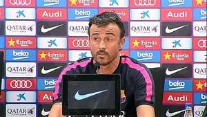"Luis Enrique: ""No siento que tenga que recuperar a Messi"" Video:"