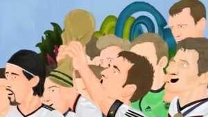 Notable: Parodia animada sobre final del Mundial Brasil 2014 Video:
