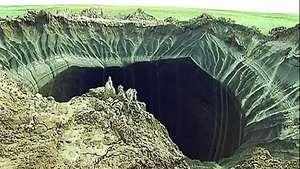 El cráter de Siberia podría ser por el cambio climático Video: