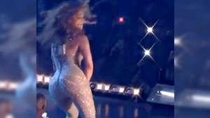 El sensual baile de Jennifer Lopez que enciente las redes sociales Video: