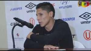"""Raúl Ruidíaz: """"Contento por mi primer gol en el clásico"""" Video:"""