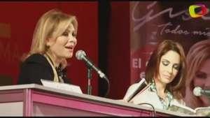 Gisela Valcárcel presenta su libro junto a Mávila Huertas Video: