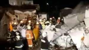 Fatal accidente aéreo se registró en Taiwán Video: