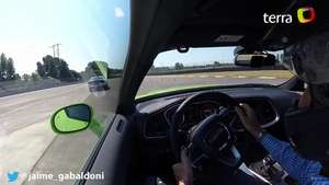 Video: Onboard Dodge Challenger 2015 Video: