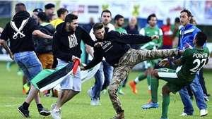 Propalestinos agreden a jugadores israelíes en Austria Video: