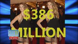 Gisele Bundchen Earns How Much A Day!? Video: