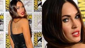Una sexy Megan Fox invade la Comic-Con 2014 Video: