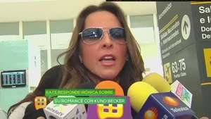 Kate del Castillo aclara romance con Kuno Becker Video: