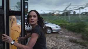 'Into the Storm': Sarah Wayne Callies, lo que siente al estar en el ojo del huracán Video: