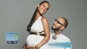 Check Out Alicia Keys' Baby Bump! Video: