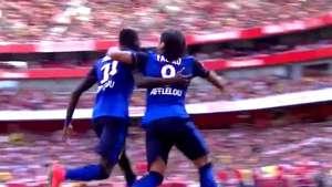Radamel Falcao anota su primer gol después de seis meses lesionado Video: