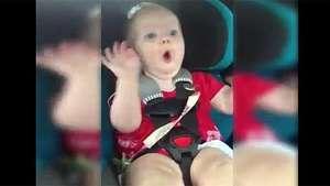 La reacción de una bebé enojada al escuchar a Katy Perry Video: