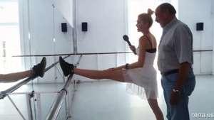 Adriana Abenia vuelve a bailar Video: