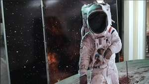 Muestra celebra aniversario de la llegada del hombre a la Luna Video:
