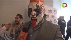 Psycho Clown, dispuesto a humillar al Texano Jr. en Triplemanía XXII Video: