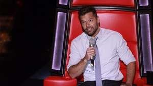 Ricky Martin dice que será un libro abierto en 'La Voz México' Video: