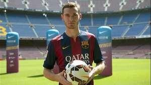Vermaelen, presentado como nuevo jugador del Barcelona Video: