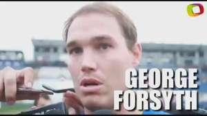 Forsyth:'No importa quien hace el gol, el objetivo es ganar' Video: