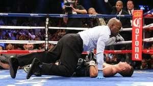 El sanguinario y brutal K.O de un boxeador estadounidense Video: