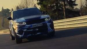 Video: Range Rover Sport SVR en  Nürburgring Video: