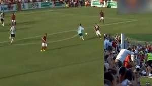 La genialidad de Totti a los 37 años que sacó reverencias Video: