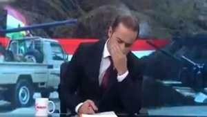 Periodistas lloran en vivo por muerte de niños en Irak Video: