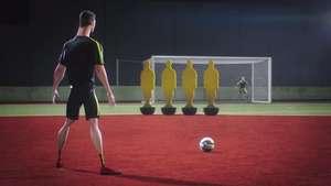 Cristiano Ronaldo y su espectacular gol de tiro libre Video: