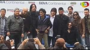 Pedro Suárez Vértiz reaparece en rueda de prensa de 'Cuando pienses en volver' Video: