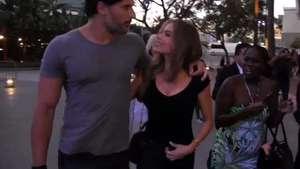 Sofía Vergara y Joe Manganiello, ya no se quitan las manos de encima Video: