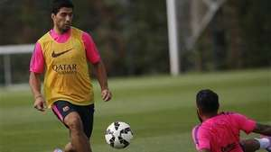 Luis Suárez listo para debut en el Barça Video: