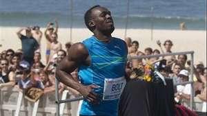 Usain Bolt gana una carrera de 100 metros en Río de Janeiro Video: