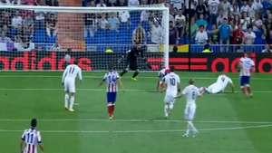 James Rodríguez anota su primer gol con el Real Madrid Video: