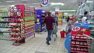 El boicot en los supermercados entre palestinos e israelíes Video: