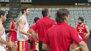 Croacia, prueba de nivel para España Video: