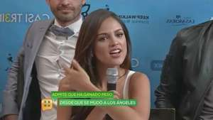 Eiza González es más sexy con kilos de más Video: