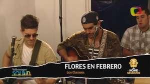 Home Sessions y los Claxons: Flores en Febrero Video: