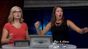 Sismo sorprende a presentadoras de noticiero en vivo Video: