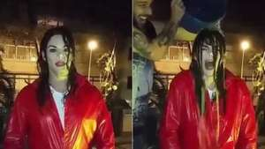 Michael Jackson se suma al reto del 'Ice Bucket Challenge' Video: