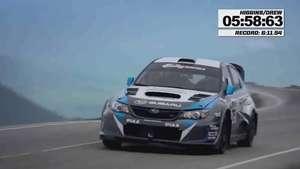 Los Subaru reyes en la subida al monte Washington Video: