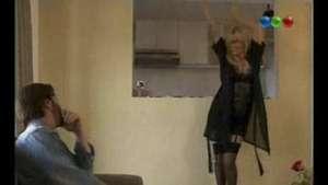 ¡Muy hot! Siciliani divirtió con su show erótico en Viudas Video: