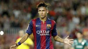Neymar sufre un esguince y es duda en el Barcelona Video: