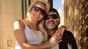 """""""Maradona se va a Roma con Rocío"""", afirma Ventura Video:"""