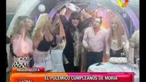 Bailando 2014: el cumpleaños de Moria dividió al jurado Video: