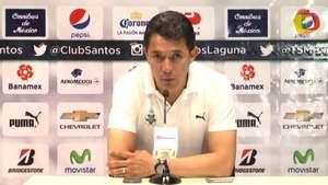 Miguel García resalta labor defensiva del Santos Laguna en últimos partidos Video: