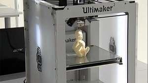 Escultura del bebé antes de nacer, lo nuevo en impresiones 3D Video:
