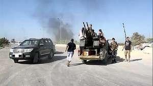 Escalada violenta de conflicto libio Video:
